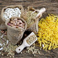 legumes and pasta