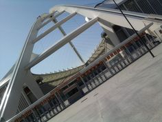 Arch @ Moses Mabhida Stadium Playground, South Africa, Arch, Ocean, City, Building, Travel, Children Playground, Longbow
