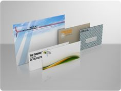 Personalize your professional correspondence with full color branded #10 envelopes. Print envelopes to match your company letterhead for maximum branding impact.