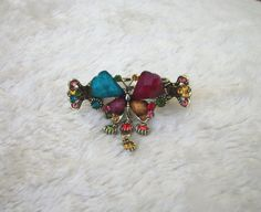 Vintage style Hair Clips / Hair Jaw / headpieces / by uniquedkz
