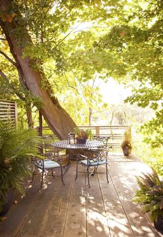 outdoor patios, backyard, wooden deck, place, garden, spot