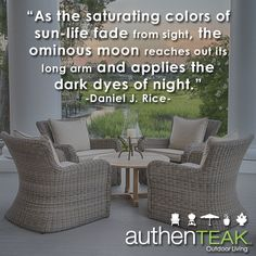 At AuthenTEAK, High Quality Outdoor Furniture, Along With Outstanding Customer  Service Is Our