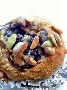 Vegan4One: Banana Blackberry Muffins
