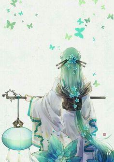 images for anime art Anime Art Girl, Manga Art, Manga Anime, Anime Girls, Fantasy Kunst, Fantasy Art, Yuumei Art, Anime Lindo, Image Manga