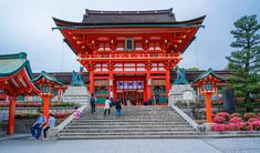 Fushimi Inari-Taisha Shrine, Kyoto - Where will you travel this year? Why not tray Japan. Japan Destinations, Cheap Places To Travel, Cool Places To Visit, Bangkok, Fushimi Inari Taisha, Tokyo Travel, Asia Travel, Visit Japan, Japan Travel