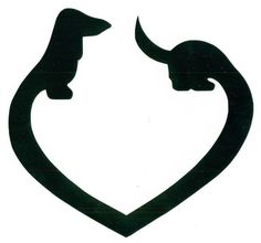 I need this as a decal for my car! #DoxieMom #WienerDog #LoveDoxies