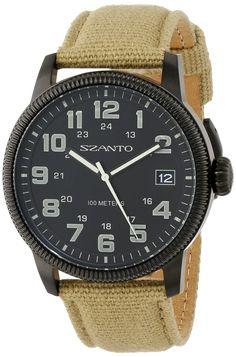 Szanto vintage inspired military field watch
