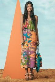 vestido cropped malagueta floral
