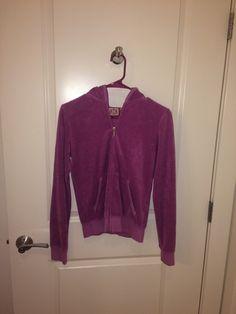 af8c4f2132b Juicy Couture Lilac terry cloth hoodie