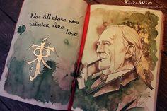 J. R. R. Tolkien. :)