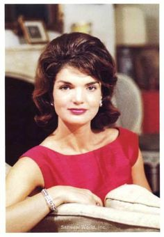 Jackie Kennedy, his beautiful mom