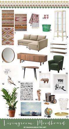 livingroom moodboard (magnoliaelectric.net)