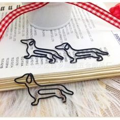 Dachshund Shaped Paper Clip #dachshund Shaped Paper Clips