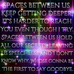 Spaces-One Direction Four I think this is going to be my favorite off the album!!!!!