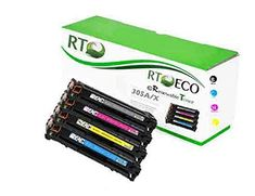 Renewable Toner 305A 305X Compatible Color Set CMYK 4-Pack for HP LaserJet Pro 300 M351 M375 400 M451 M475
