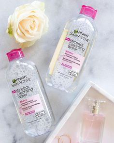 Garnier SkinActive Micellar Cleansing Water, For All Skin Types, Fl Oz (Pack of Neutrogena, Garnier Micellar Water, Best Makeup Remover, Makeup Removers, Dry Skin On Feet, Garnier Skin Care, Best Makeup Products, Beauty Products, How To Remove