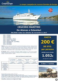 Crucero marítimo-costero de Atenas a Estambul -oferta hasta 200€dto -sal: sábados de nov a abril ultimo minuto - http://zocotours.com/crucero-maritimo-costero-de-atenas-a-estambul-oferta-hasta-200edto-sal-sabados-de-nov-a-abril-ultimo-minuto-2/