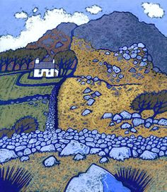 Landscape Paintings and photographs : Chris Neale lives in Pembrokeshire and has captured many corners of SW Wales and… – Photography Magazine Landscape Art, Landscape Paintings, Erin Hanson, Naive Art, Art Photography, Photography Magazine, Print Artist, Painting & Drawing, Folk Art