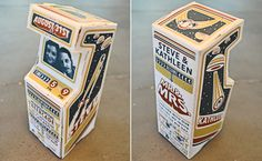 These 3D Arcade Wedding Invitations Are Completely Awesome | Photo by: William Flegal | TheKnot.com