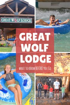 Great tips and suggestions BEFORE you go to Great Wolf Lodge! Great Wolf Lodge Tips Great Vacation Spots, Vacation Trips, Day Trips, Family Vacations, Vacation Ideas, Canada Travel, Travel Usa, Travel With Kids, Family Travel