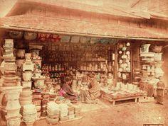 19th C Bonsai shop