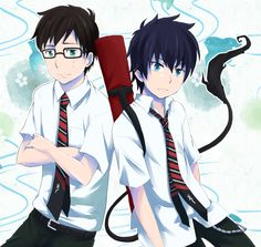 Rin and Yukio - Blue Exorcist