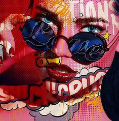 24 Ideas for pop art comic face Face Illustration, Illustration Artists, Tattoo Illustrations, Portfolio D'art, Fashion Portfolio, Funny Cartoon Faces, Pop Art Face, Art Pop, Pop Art Makeup