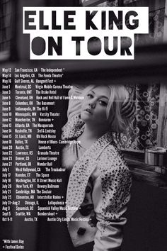 elle king ex's and oh's - Yahoo Image Search Results Tour Posters, Band Posters, Fonda Theater, Elle King, Drake Hotel, Much Music, Valley Girls, Music Heals, Concert Posters