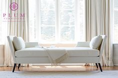 The Sandra Napper - Plum Furniture Designed by Colleen McGill of McGill Design Group Inc.