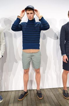 J Crew coleccion primavera verano 2014 New York Fashion Week Blazers, J Crew, Men's Apparel, Gq, Shorts, Knit Sweaters, Men's Clothing, Spring Summer, Suits