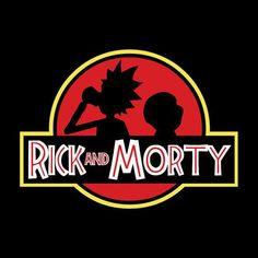 Rick And Morty Jurassic Park Logo