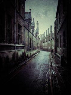 nrkn:    juliancalverley: #iphoneonly - The irresistible Trinity Lane, Cambridge.