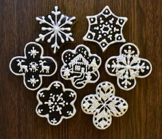 vánoční tmavé perníky s kakaem