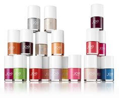 Joe Fresh Beauty, Nail Polishes. We've got 19 new colours this season. 19 possibilities to fall in love.