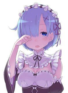2枚では終わりません! まだありますよー! 続いては眠たげに目をこするレム! #rezero
