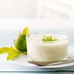 Chilled Key Lime Mousse Recipe - put it in a graham cracker crust - better than regular key lime pie! ONLY use real key lime juice and DO NOT add the lime peel to the custard, which will make it bitter.