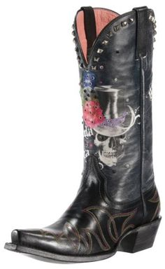 Ariat Gypsy Soule Mi Cowgirl Boots Skull - LOVE