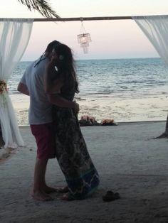 #Chandelier #orchids #Beachwedding #love   #Belize #weddingdesigner #Romantictravelbelize
