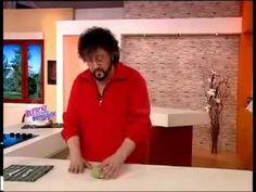 Jorge Rubicce - Bienvenidas TV - Decoupage sobre Porcelana - YouTube