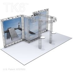 UBJ-10ft x 20ft Box Truss Trade Show Display Booth