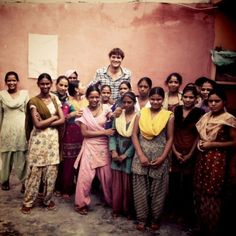 """Ashton Kutcher Visits Victims Of Sex Trafficking While Filming In India    """"Met some powerful girls today in Delhi at Apne Aap: A grassroots movement to end sex trafficking!"""""""