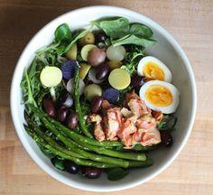 summer salad series + mustardy roasted wild salmon salad — The Crunchy Radish