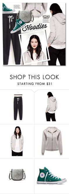 """""""Winter Layering: Hot Hoodies"""" by svijetlana ❤ liked on Polyvore featuring Converse, women's clothing, women's fashion, women, female, woman, misses, juniors, Hoodies and polyvoreeditorial"""