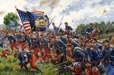 """The men of Brooklyn"" Battle of Gettysburg,"