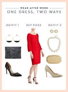 Wear After Work One Dress Two Ways