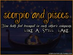 this and more..and its sumthin that I want more of but it also kinda scares me a lil .. I can only speak for myself and that's part of y it scares me............ Pisces And Scorpio Compatibility, Scorpio And Cancer, Astrology Scorpio, Pisces Traits, Scorpio Love, Pisces Girl, Zodiac Signs Scorpio, Scorpio Quotes, Scorpio Woman