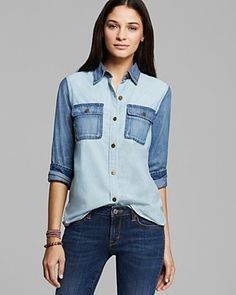 D-ID Shirt - Amazone Denim | Bloomingdale's