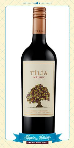 This wine is rich and full-bodied with flavors of juicy black berries, cranberries and black currants, followed by notes of vanilla and sweet spice. Tilia Malbec Mendoza pairs perfectly with meat dishes like cranberry pot roast or roast duck with sour cherry sauce. – Winemaker's notes