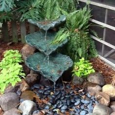 Zen Water Fountain Ideas For Garden Landscaping 19