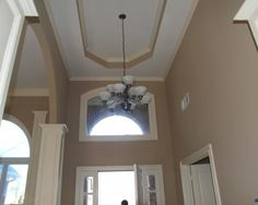 Atlanta Entry Design - colors of my family room - soon to be in my two story foyer